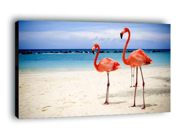 Obraz Flamingi Nowoczesne Obrazy Na Płótnie